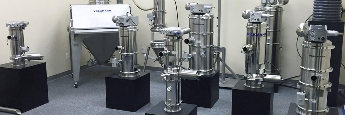 Volkmann Sistemas de Transporte Neumatico por vacio